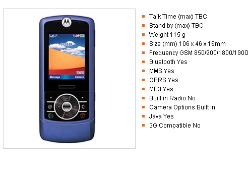 Unlocked Motorola Z3 Blue Light